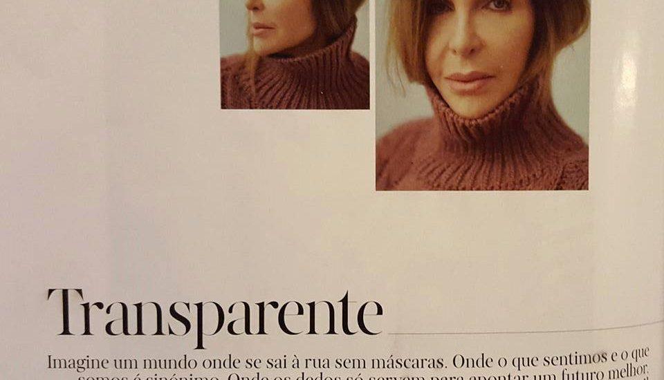Kiki Pais de Sousa na revista Vogue Portugal