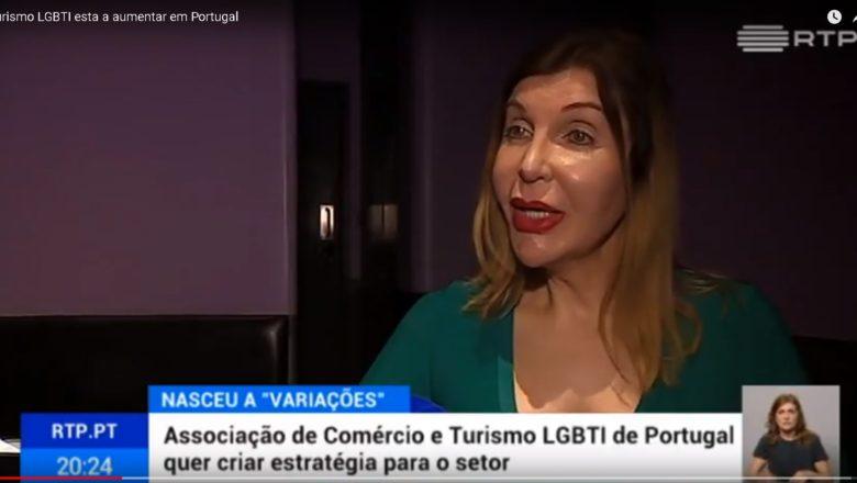 """Kiki Pais de Sousa e a associação LGBTI """"Variações"""""""
