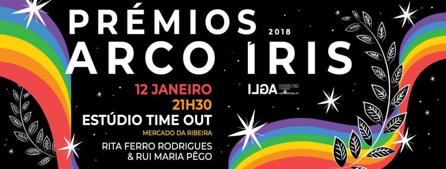 Prémios arco Iris 2018