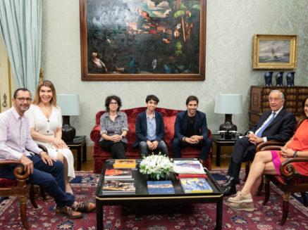 Presidente da República recebeu responsáveis da candidatura de Portugal ao EuroPride 2022